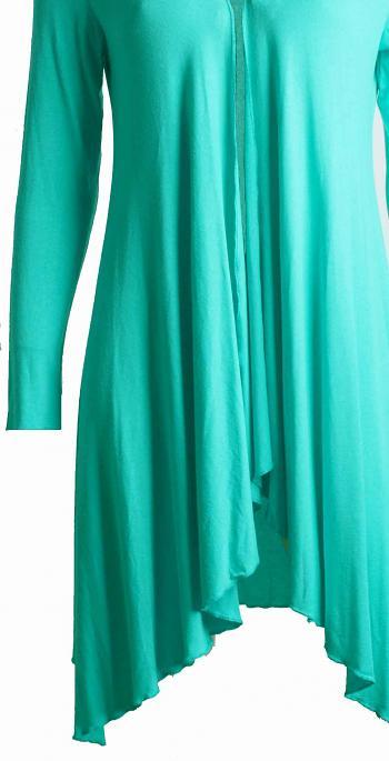 Jacke LONGO Turquoise1