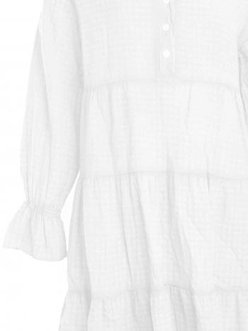 Kleid AMY Baumwolle white