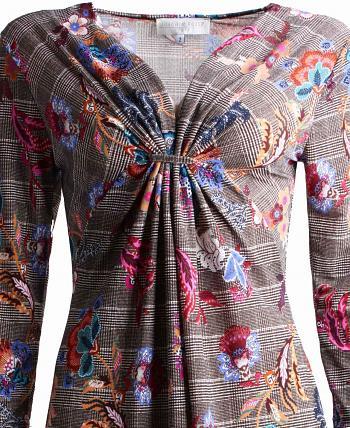 Kleid CHARLISE Taupe6