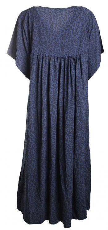 Kleid ELA Viskose blue