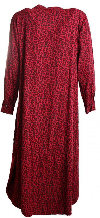 Kleid EVA Viskose bordeaux