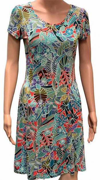 Kleid HILLARY Green5