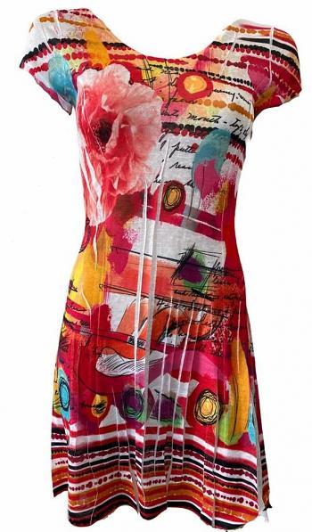 Kleid HILLARY Red2