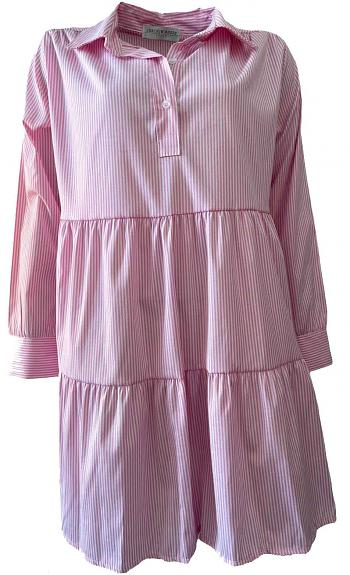 Kleid INES Fushia