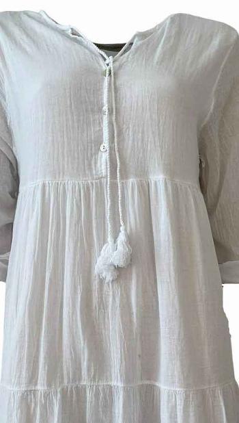 Kleid LOUNA white