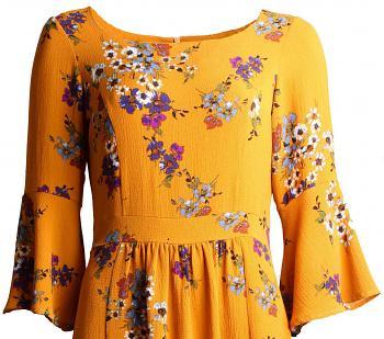 Kleid LUNEL Yellow6