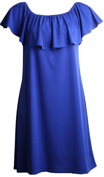 Kleid VOLANT Royalblue3
