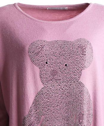 Pullover BEAR rose