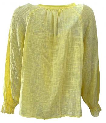 Shirt CAMILLE yellow