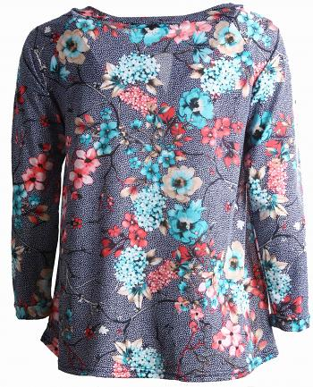 Shirt MAHE Blue1