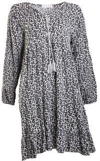 Kleid BEA Viskose grey