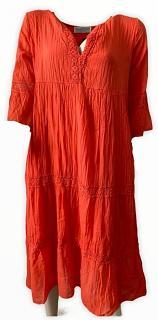 Kleid CAMILLE coral