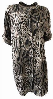 Kleid CORA Baumwolle choco