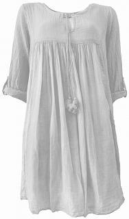 Kleid MONIQUE white