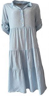 Kleid ROMANE bleu