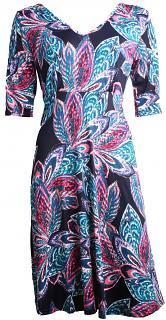 Kleid SOLINE Blue2