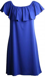 Kleid VOLANT Royalblue2