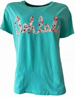 Shirt OHLALA turquoise