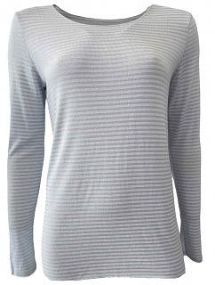 Shirt SINA Viskose bleu
