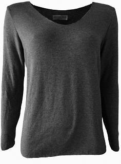 Shirt SINA Viskose black