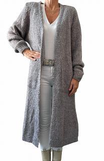 Strickjacke MYA grey