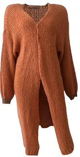 Strickjacke TANIA rust