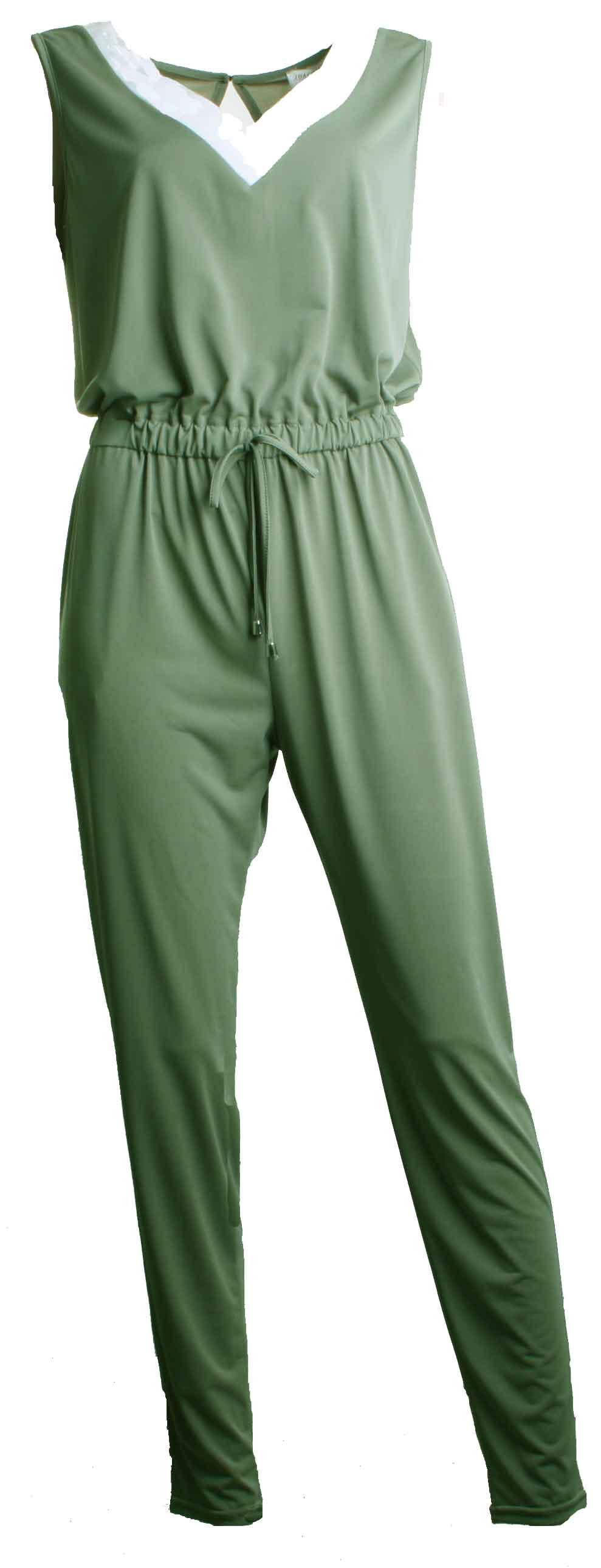 Jumpsuit JACKY Green3