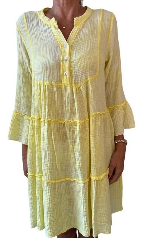 Kleid APOLLINE yellow