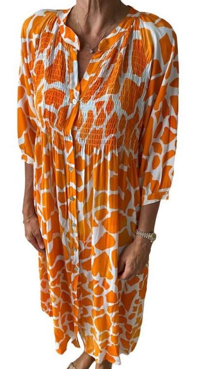 Kleid ELLEN orange