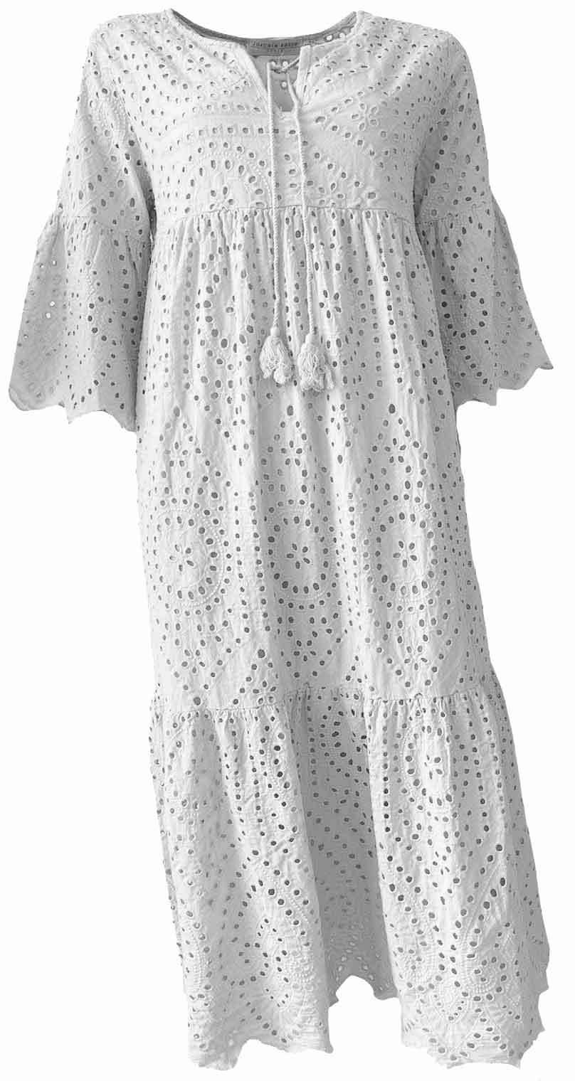 Kleid LILOU white