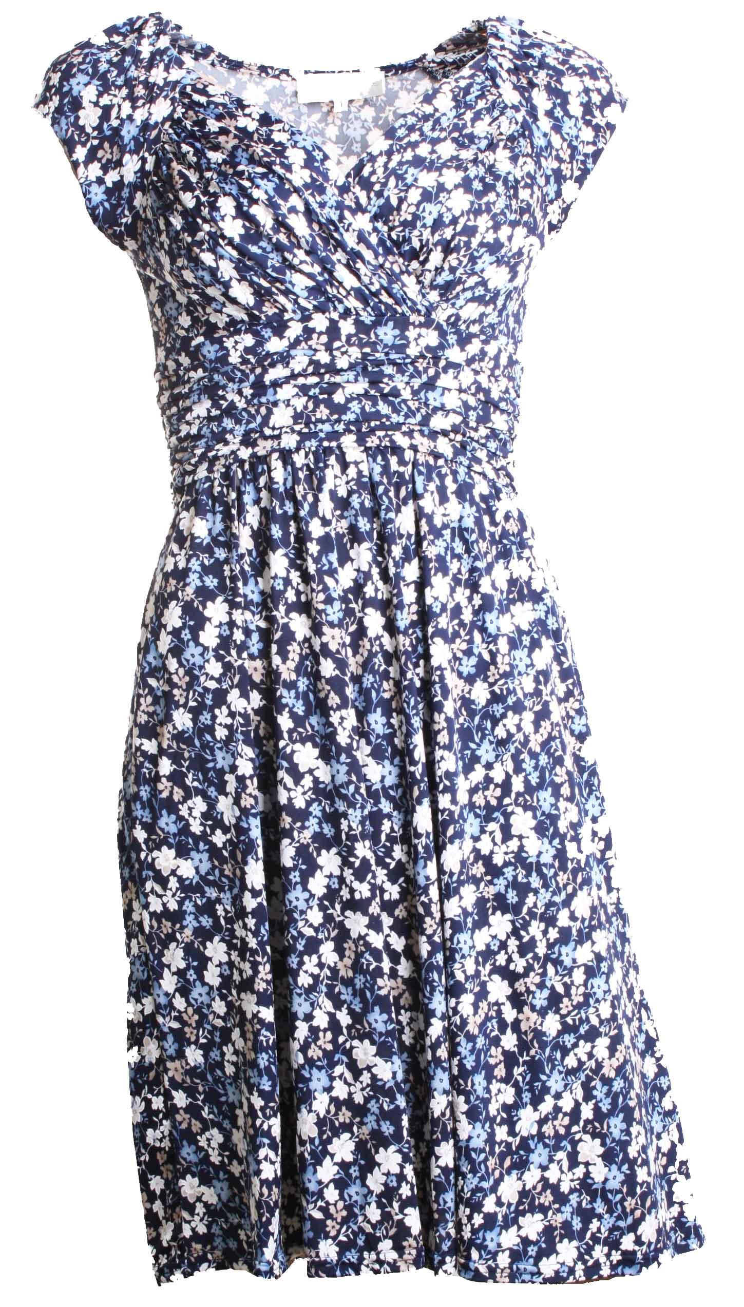 Kleid LOLA Blue1