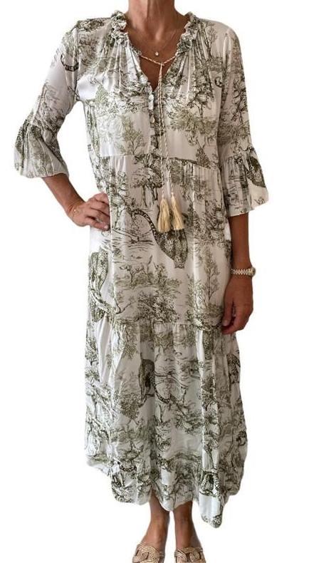 Kleid LYDIA khaki