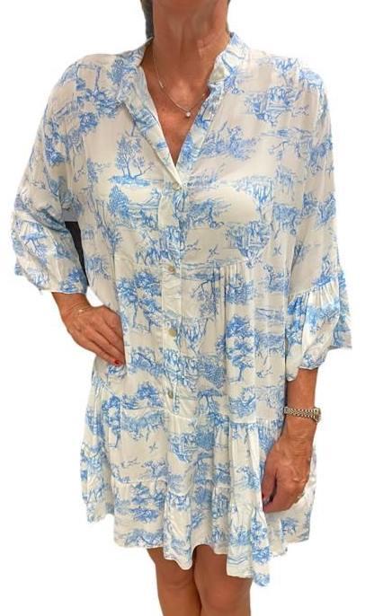 Kleid MATHILDA bleu