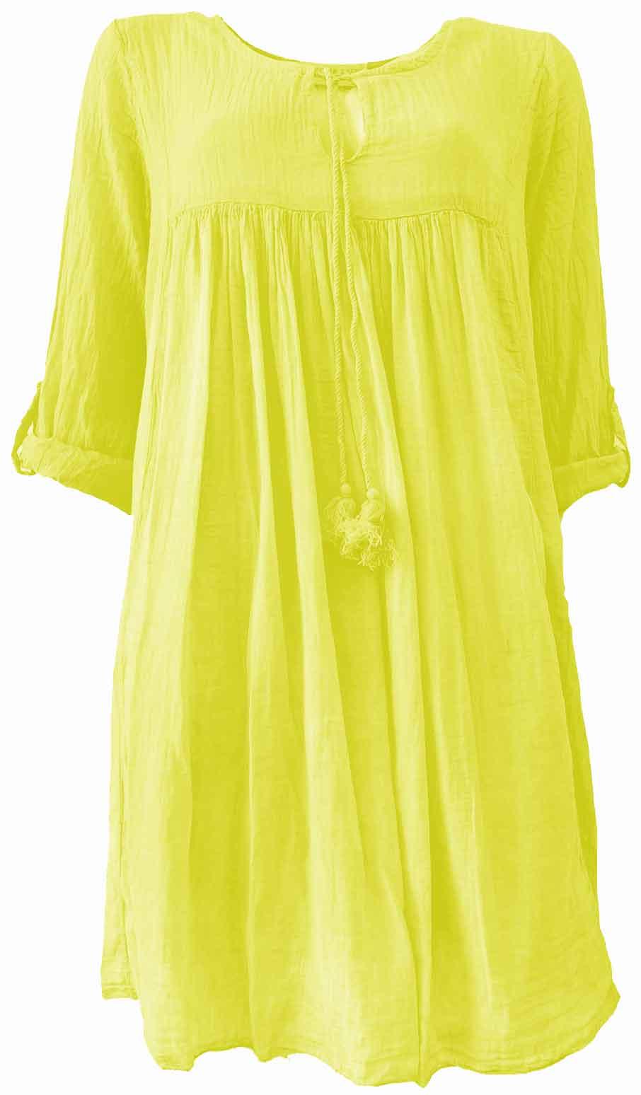 Kleid MONIQUE yellow