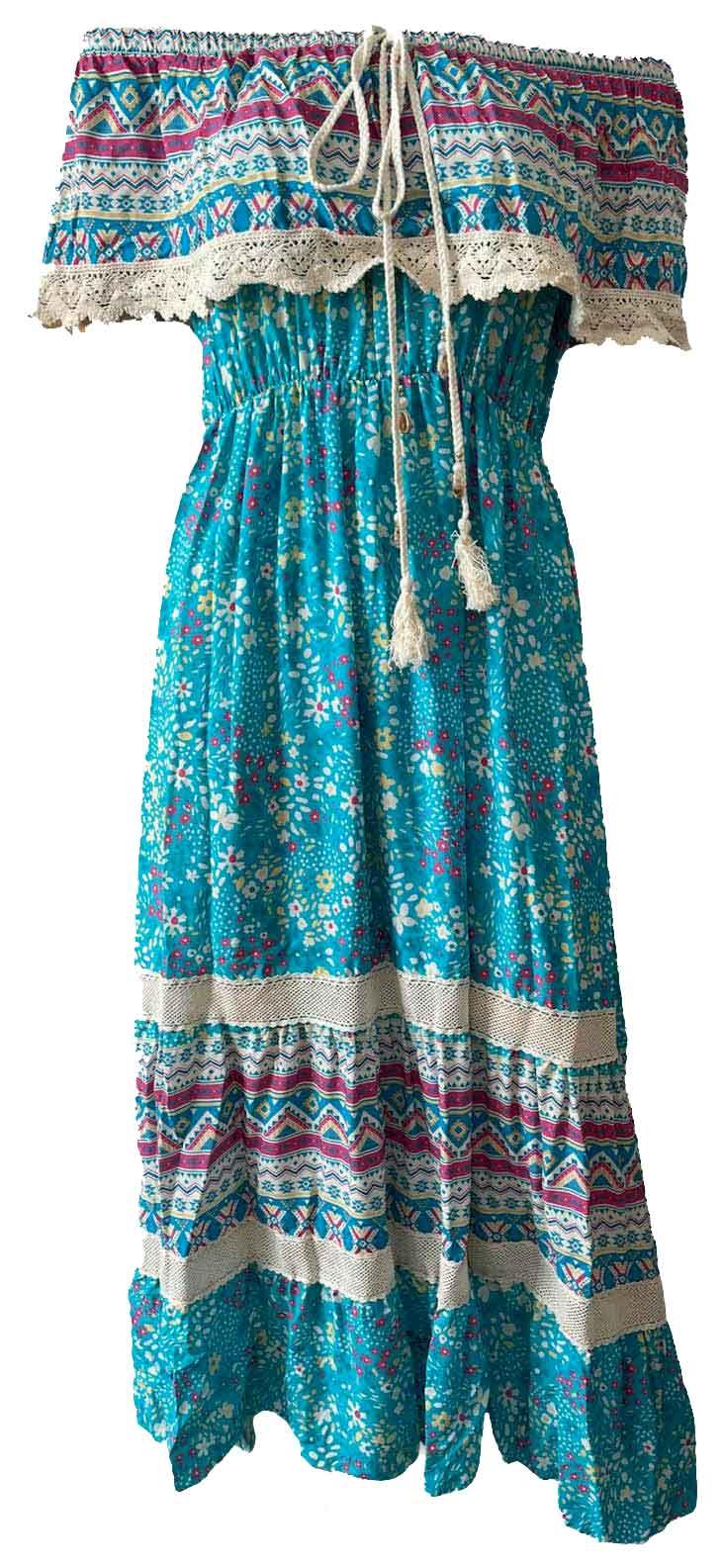 Kleid OCEANE turquoise