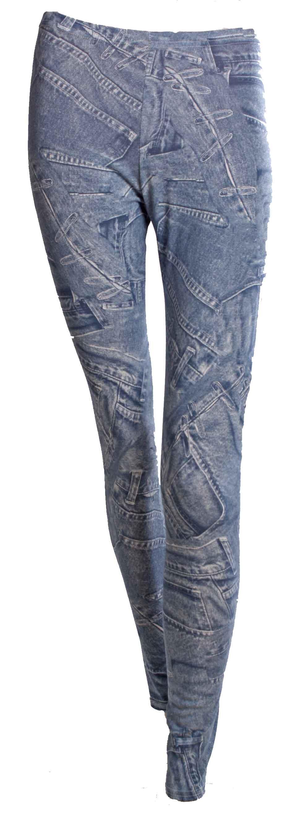 Legging JEANS Blue1