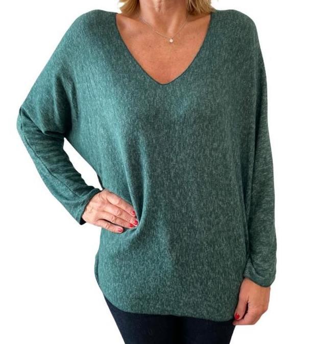 Shirt ANIKA green
