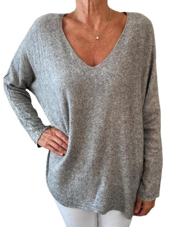 Shirt ANIKA grey
