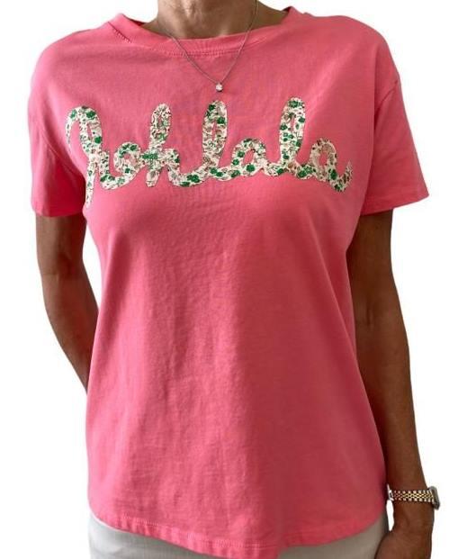 Shirt OHLALA coral