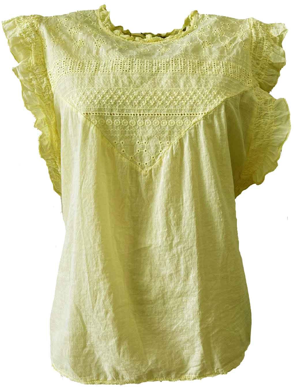 Shirt SABRINE yellow