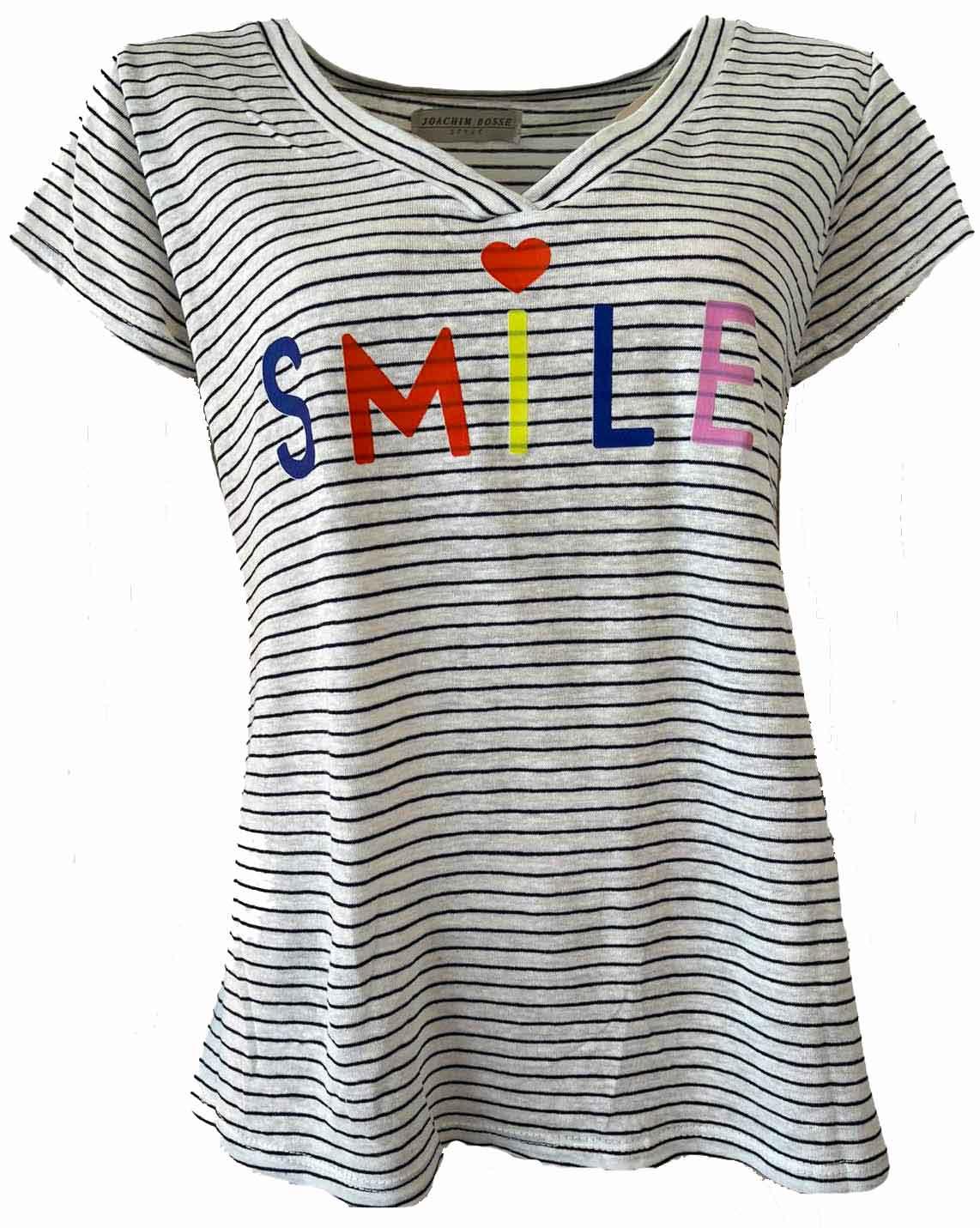 Shirt SMILE blue